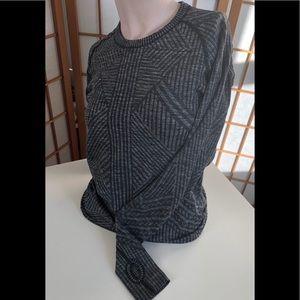 Grey Activewear Top